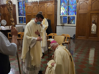 Fr. Jonathan Kelly's Ordination to the Priesthood
