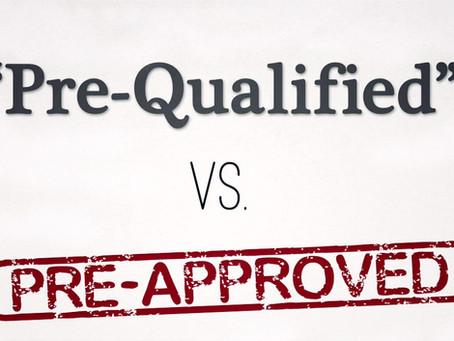 Pre-Qualified vs. Pre-Approved: What's the Difference?
