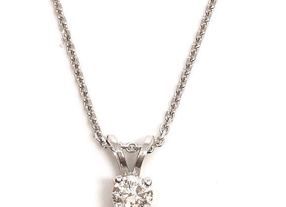 שרשרת זהב בשילוב תליון יהלום  CN001