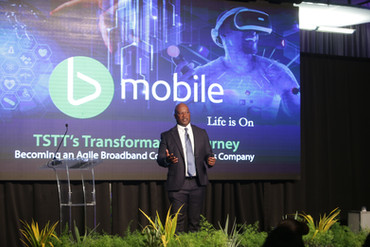 TSTT's CEO, Dr. Ronald Walcott, discusses TSTT's 5G strategy at the launch of the first 5G network in the English-speaking Caribbean.