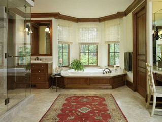 Tub Surround And Vanity