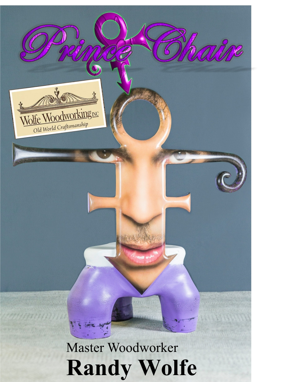 Prince Chair - Randy Wolfe - Wolfe Wood Working
