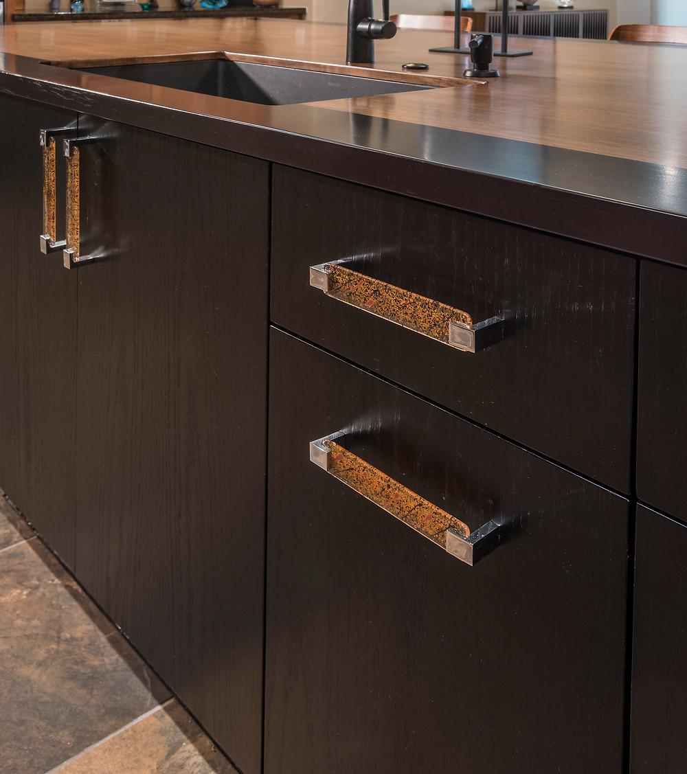 Custom handles created client