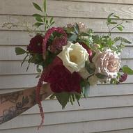 Natural garden posy bouquet