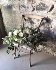 Luxury garden rose bouquet