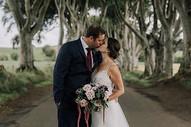 Wedding Photo at Dark Hedges