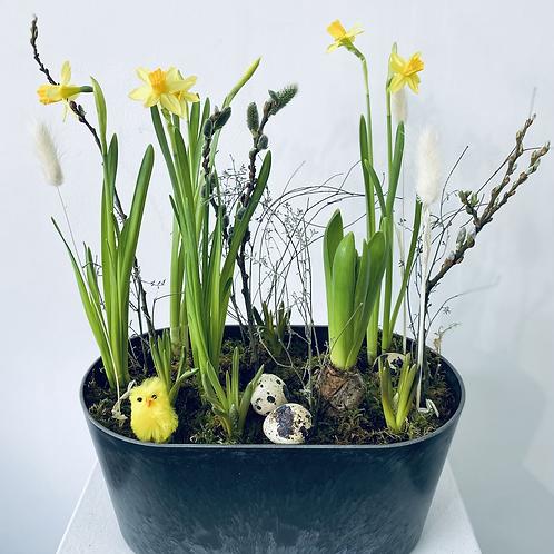 Outdoor Spring planter