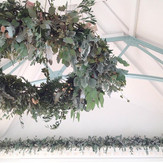 Foliage chandelier for Friday's #stables