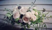 freeform posy bouquet