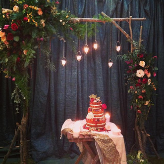 Magical cake setting for yesterday's #st