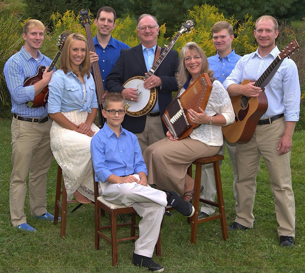 Lacey Family Bluegrass Gospel Music in Ohio & Joshua Lacey's Custom Scrollsaw Art