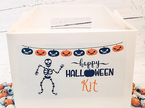Halloween Personalised Gift Box Perfect for Parties