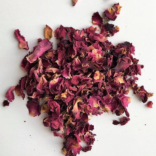 Heritage Burgundy Rose Petal Confetti - 1 Litre