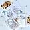 Thumbnail: 5 Guest Wedding Bundle confetti bag, seed favour & Happy Tears Tissue