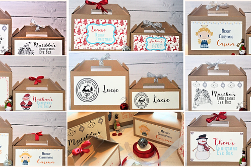 Christmas Personalised Gift Boxes