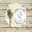 Thumbnail: Wedding Invitation Rose Gold Foliage Frame A5 or A6