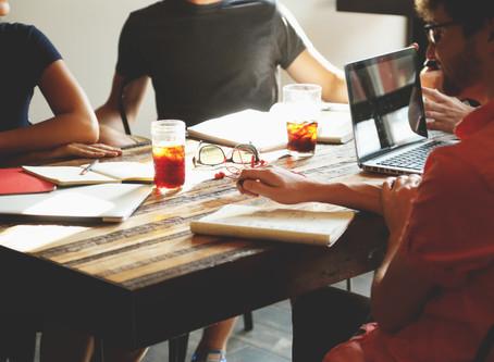 How do I manage a meeting?