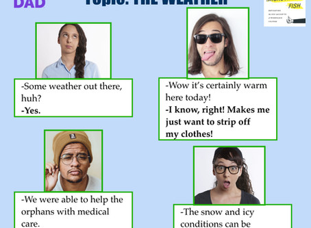 How NOT to talk about the weather