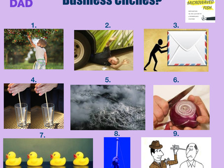 Can you identify these business clichés?