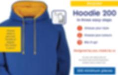 Assegai - Burton embroidery services bespoke hoodies