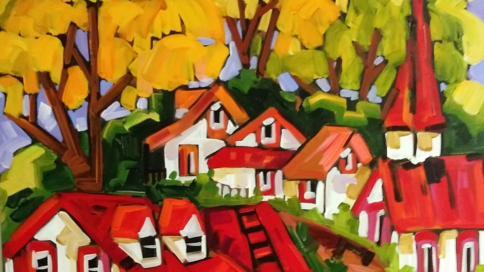 """Boucher """" Summer in Laurentians """""""