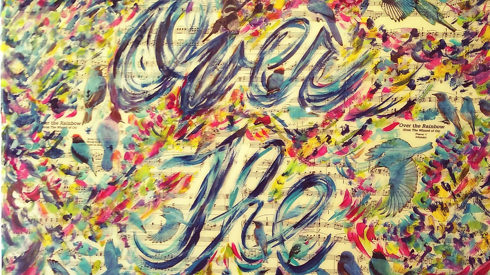 "Donna Sved 2020 Original "" Over The Rainbow """