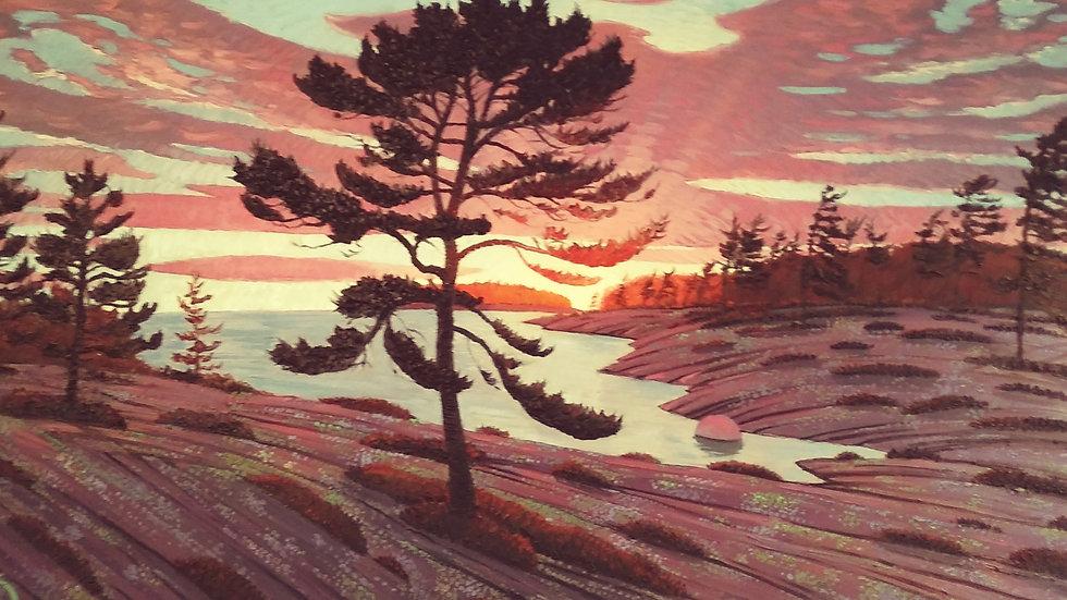 Haggart Bay , Lone Pine by Berens