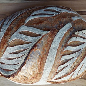 O fato de fazer pães lindos hoje, me faz mais feliz.