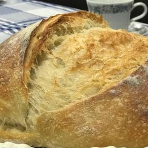Nunca tinha ouvido falar de pão de fermentação natural, hoje não fico sem esse tipo de pão.