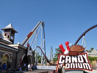 Uma voltinha na Candymonium, a mais nova montanha-russa do Hersheypark