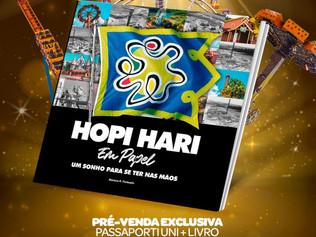 Hopi Hari lança livro contando sua história nestes 20 anos