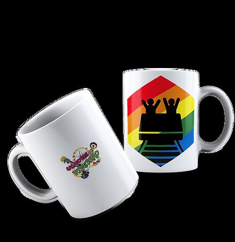 Caneca Rainbow Coaster