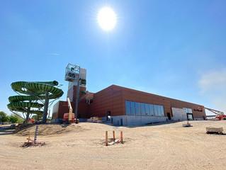 Confira fotos da construção do novo parque aquático Plopsaqua Hannut-Landen.