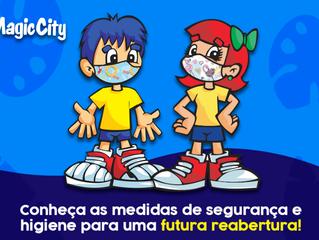 Magic City: Conheça os protocolos que o parque está adotando para tornar sua volta ainda mais segura