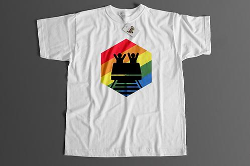 Camiseta Rainbow Coaster