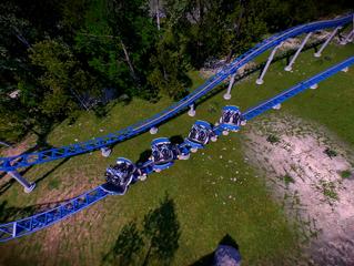 Update #1 - Confira as fotos da construção da nova montanha-russa do Plopsaland De Panne.