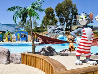 Parque Warner Beach em Madri reabre em 1º de julho.