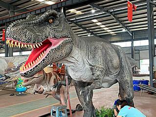 Acqualinda terá robô dinossauro de seis metros de altura!