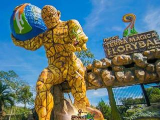 Parque Terra Magica Florybal reabre ao público.