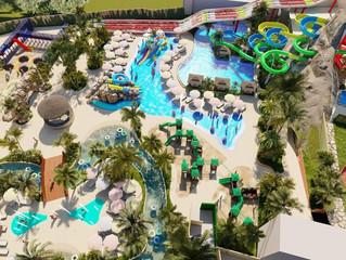 Suzano ganha mais um parque aquático: O Blue Beach Thermas Park.