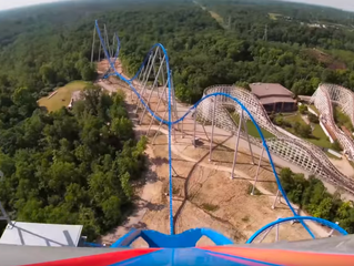 Confira o vídeo on-ride da Orion, nova montanha-russa do Kings Island