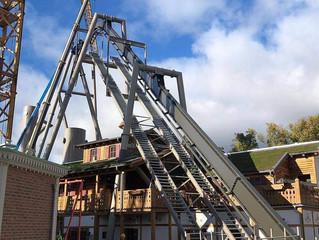 Gröna Lund avança na construção de sua mais nova montanha-russa invertida