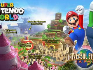 Update #1 - Confira o andamento da construção da Super Nintendo World!