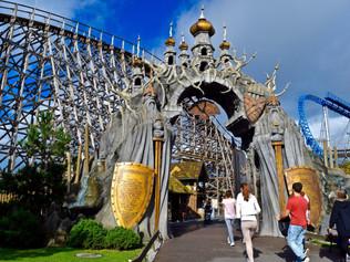 Como está sendo a reabertura dos parques de diversões na Alemanha.