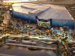 SeaWorld Abu Dhabi avança na construção do novo parque