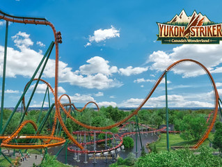 Confira a construção da Yukon Striker, do Canada's Wonderland!