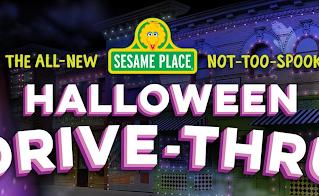 Sesame Place anuncia experiência de Halloween em modelo drive-thru