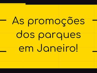 Confira algumas promoções dos parques brasileiros e faça sua visita.