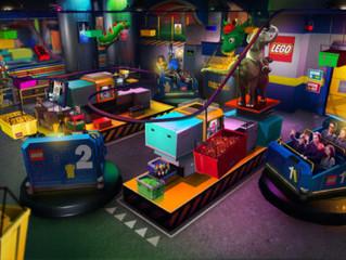 Update #1 - Novo vídeo da Lego Factory Adventure Ride do Legoland New York