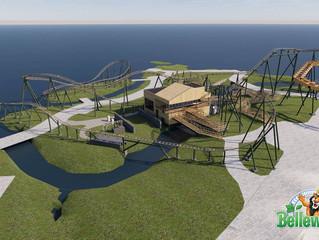 Parque Bellewaerde apresenta sua nova montanha-russa Wakala.